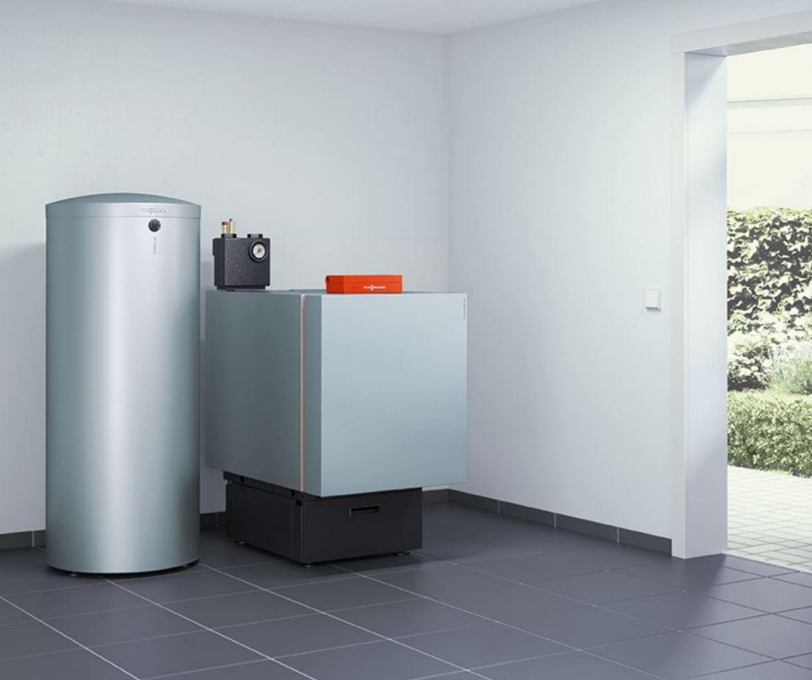 Speicher-Wassererwärmer aus Edelstahl